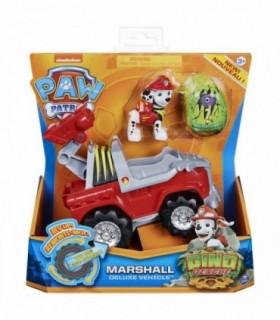 Vehicul Cu Catelus Marshall Si Figurina Dino Surpriza