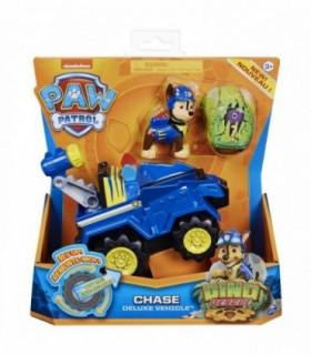 Vehicul Cu Catelus Chase Si Figurina Dino Surpriza
