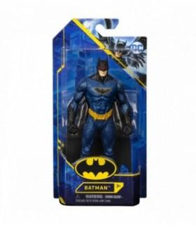 Batman Cu Costum Albastru Metalizat, 15 cm