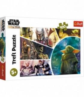 Star Wars Baby Yoda Madalorianul, 100 Piese