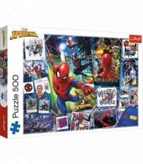 Spider-Man Supereroul, 500 Piese & Poster