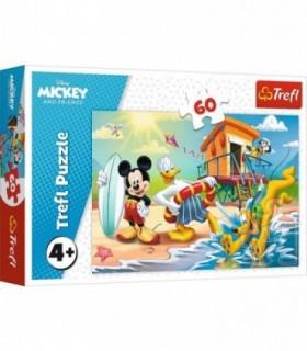 Distractie Pe Plaja Cu Mickey Mouse, 60 Piese