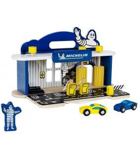 Atelier Reparatii Masini cu Spalatorie din Lemn Michelin