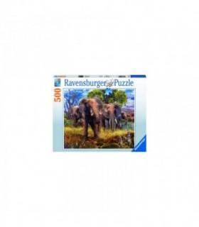 Familie Elefanti, 500 Piese