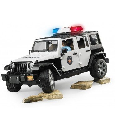 Jeep Wrangler Unlimited Rubicon Cu Ofiter De Politie Si Echipamente