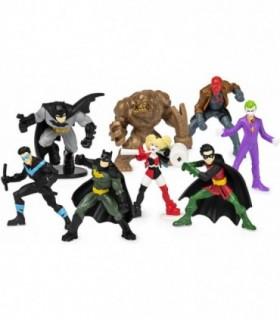 Set Batman De 8 Eroi Minifigurine 5 cm