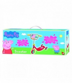 Trotineta Cu 3 Roti Peppa Pig