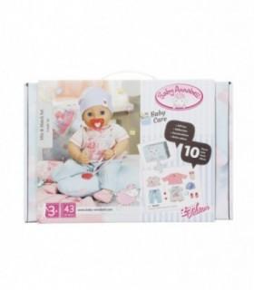 Cutie Cu Hainute Si Accesorii Baby Annabell, 43 cm