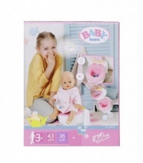 Toaleta Cu Efecte Sonore Baby Born