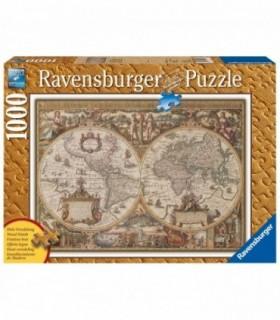Harta Antica A Lumii, 1000 Piese