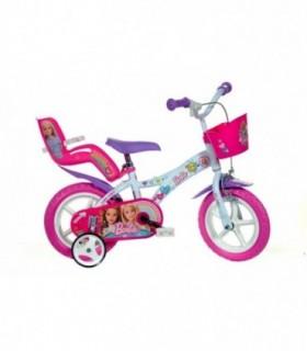 Bicicleta 12 inch Barbie La Plimbare