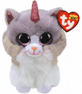 Pisica Unicorn, 15 cm