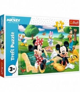 Mickey Mouse Intre Prieteni, 24 Piese Maxi