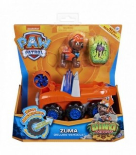 Set Vehicul Cu Catelus Zuma Si Figurina Dino Surpriza