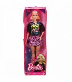 Barbie Fashionista Blonda Cu Tinuta De Vara Rock