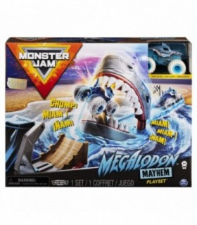 Set Cascadorii Megalodon Mayhem Monster Jam