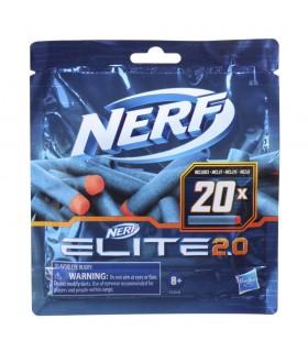 Nerf Elite Munitie 2.0 Refill, 20 Piese