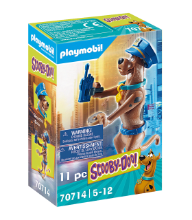 Figurina De Colectie - Scooby-Doo! Politist