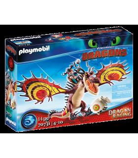 Dragons Cursa Dragonilor: Snotlout Si Hookfang