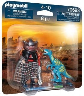 Set 2 Figurine - Dinozaur Si Cercetator