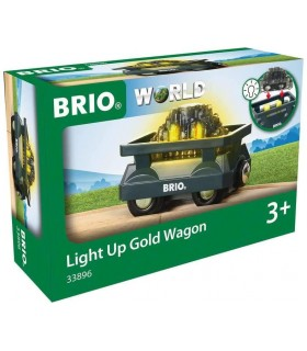 Vagon Luminos Cu Aur