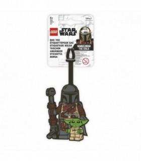 Eticheta bagaje LEGO Star Wars Mandalorianul si Copilul