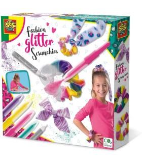 Fashion Glitter Scrunchies - Bentite Cu Sclipici