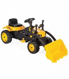 Tractor Cu Pedale Active With Loader 07-315 Yellow
