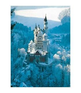 Castelul Neuschwanstein Iarna, 1500 Piese