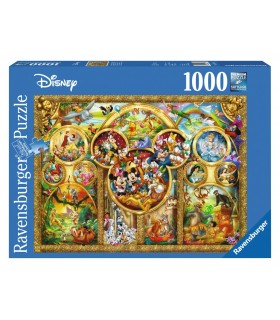 Temele Disney, 1000 Piese