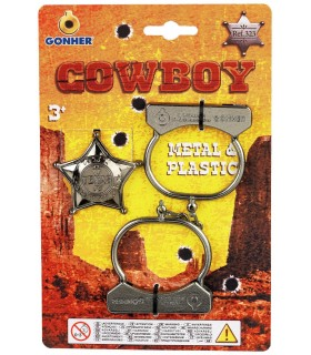 Catuse si Insigna Cowboy