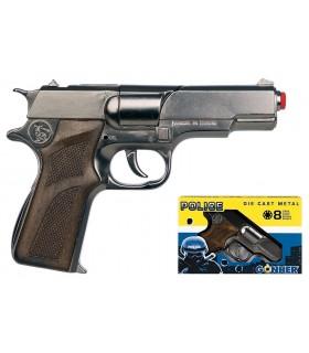 Pistol Politie Gonher Old Silver