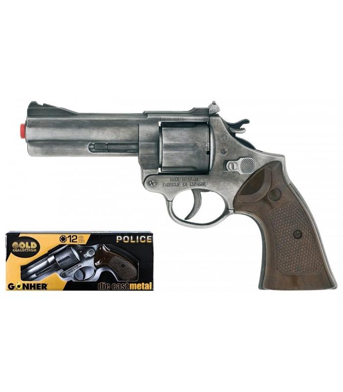 Revolver Politie Gonher Old Silver