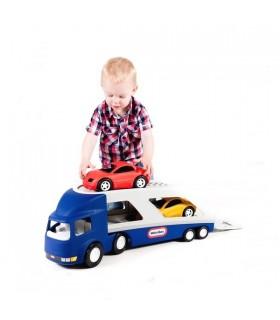Transportor Masini, Albastru