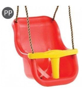 Leagan Baby Seat LUXE Red/Yellow, KBT