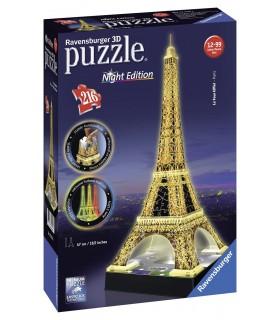 Turnul Eiffel, Noaptea