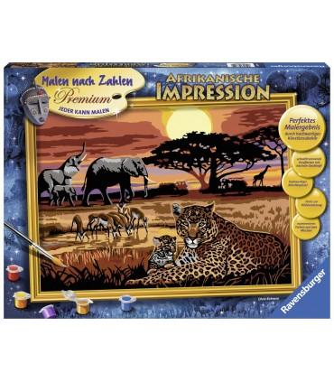 Pictura Pe Numere Safari African