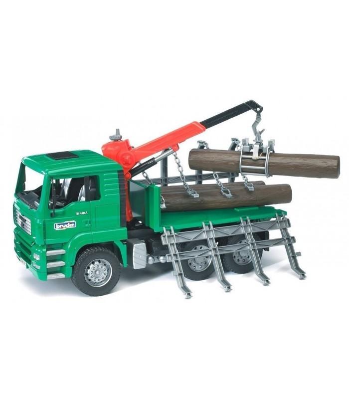 Camion Forestier cu Busteni MAN