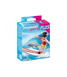 Surfer Cu Placa Pe Surf