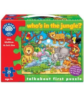 Cine este in jungla?