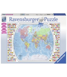 Harta Politica A Lumii, 1000 Piese