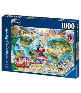 Harta Lumii Disney, 1000 Piese