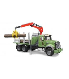 Camion Mack Forestier Cu Macara