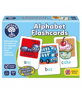 Alfabetul (Alphabet Flashcards)