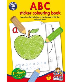 Carte de Colorat ABC