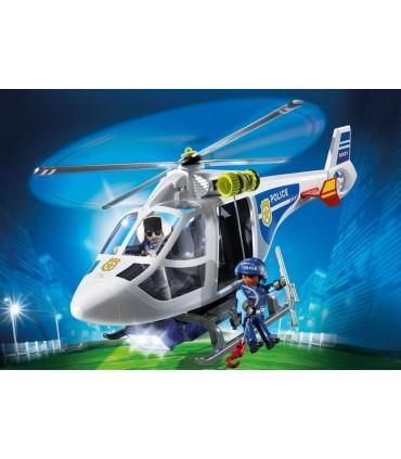 Elicopter De Politie Cu Led