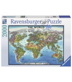 Harta Lumii, 2000 Piese