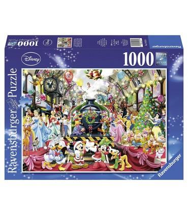 Puzzle Craciunul In Familia Disney, 1000 Piese