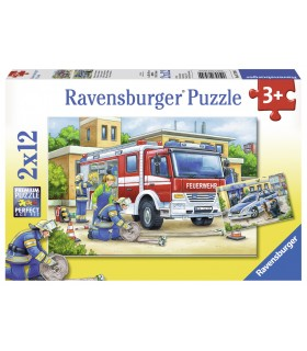 Politie Si Pompieri, 2x12 Piese
