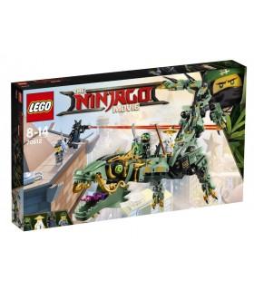 Robotul-balaur Ninja Verde